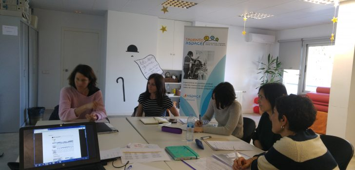 El grup d'Alimentació i Deglució del projecte Talento ASPACE comparteix recursos i celebra un taller de sabors