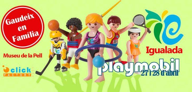 Igualada serà la propera seu de la Fira lúdica i del col·leccionisme de Playmobil  organitzada per Click Factory Fest