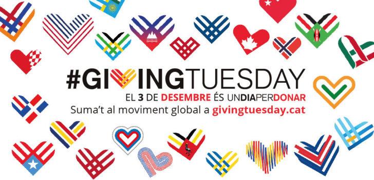 Arriba el #GivingTuesday, un dia per donar a Nexe Fundació, el Grup Social Esclat, l'APPC Tarragona i l'Associació Aremi