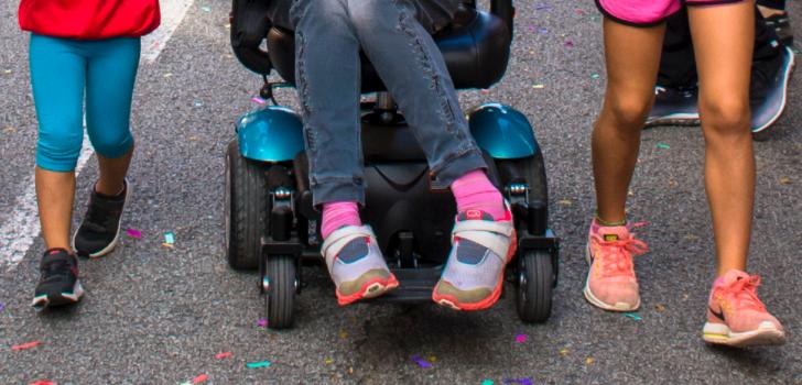 Caminada popular per la paràlisi cerebral i la pluridiscapacitat