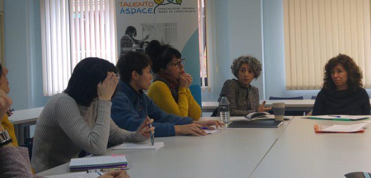 El Grup de Comunicació del projecte Talento ASPACE enceta l'any amb una reunió per fixar les bases del seu treball