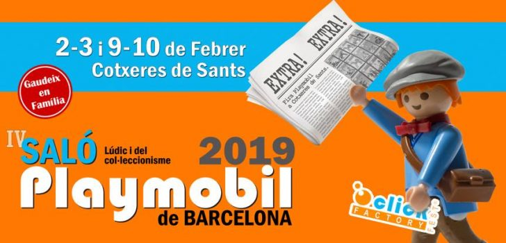 El Saló de Playmobil torna a Barcelona amb un renovat compromís solidari