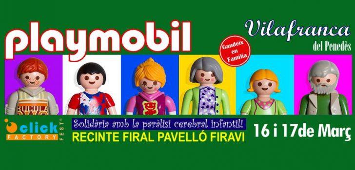 Click Factory Fest anuncia una nova fira de playmobil solidària amb la FEPCCAT: Vilafranca del Penedès
