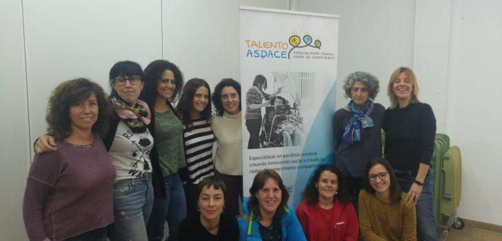 La Fundació l'Espiga fa d'amfitriona de la tercera reunió del grup comunicació del projecte Talento ASPACE
