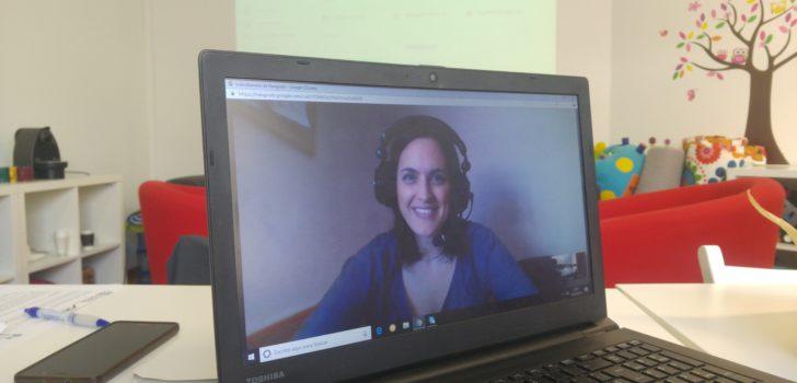 Els grups del projecte Talento ASPACE es reuneixen per videoconferència davant la crisi del coronavirus