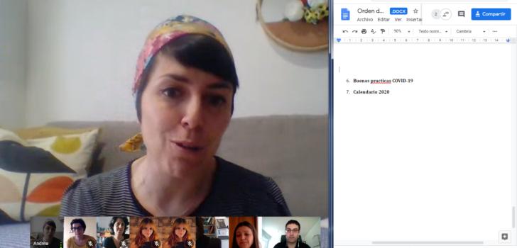 Els grups de treball del projecte Talento ASPACE reprenen les seves reunions per videoconferència