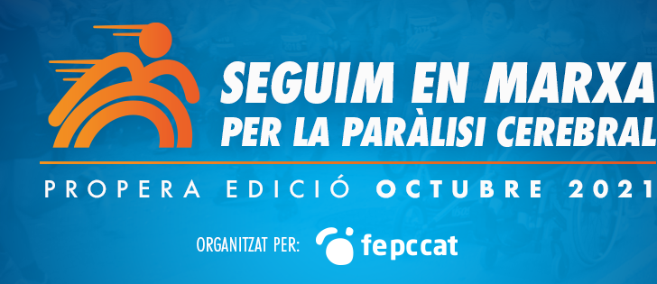 """[COMUNICAT] La 10ª edició de la cursa solidària """"En Marxa per la paràlisi cerebral"""" s'ajorna fins el 2021"""